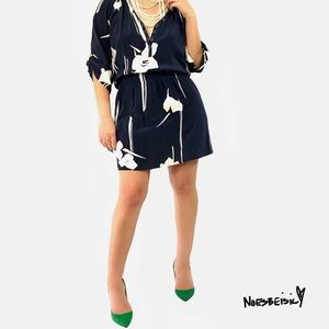 Yumi Kim Tulip Print Silk Dress